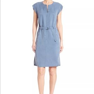 Akris Punto Belted zip front dress NWT lyocell